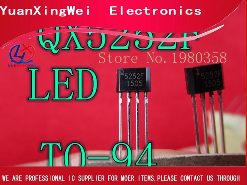 50pcs QX5252F QX5252 5252 LED Driver IC Solar Garden Light IC DIY Joule Thief Kit Greenhouse LED Light Driver Module