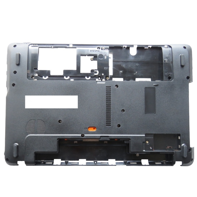 YENI Laptop Alt Taban Kapak Için Packard Bell EasyNote TE11 TE11HC TE11HR TE11BZ TE11 BZ TE11 HC TE11 HR Siyah D durumda