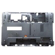 新しいラップトップボトムベースケースカバー入り江パッカードベル用easynote te11 te11hc te11hr te11bz TE11 BZ te11 TE11 HR黒dケース