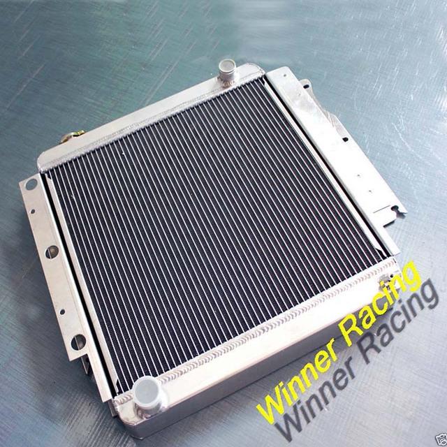 Alto fluxo de liga de alumínio do radiador Para Jeep Wrangler YJ/TJ/LJ M/T RHD 1987-2006 88 89