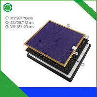 3 In 1 Air Purifier Parts AC4121+HEPA AC4124+Activated Carbon Filter AC4123 for Philips AC4002 AC4004 AC4012 Air Purifier
