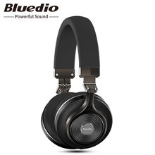 Original Bluedio T3 wireless stereo headphones portable bluetooth headset with microphone for Iphone Samsung Xiaomi phone music(China)