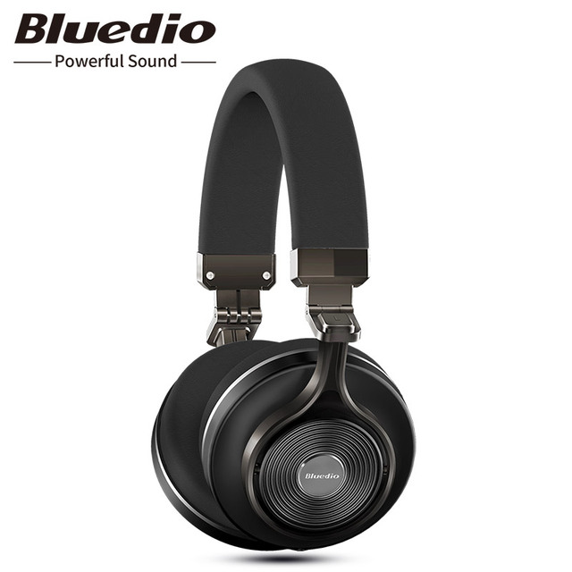 5d52b232413 Original Bluedio T3 wireless stereo headphones portable bluetooth headset  with microphone for Iphone Samsung Xiaomi phone music