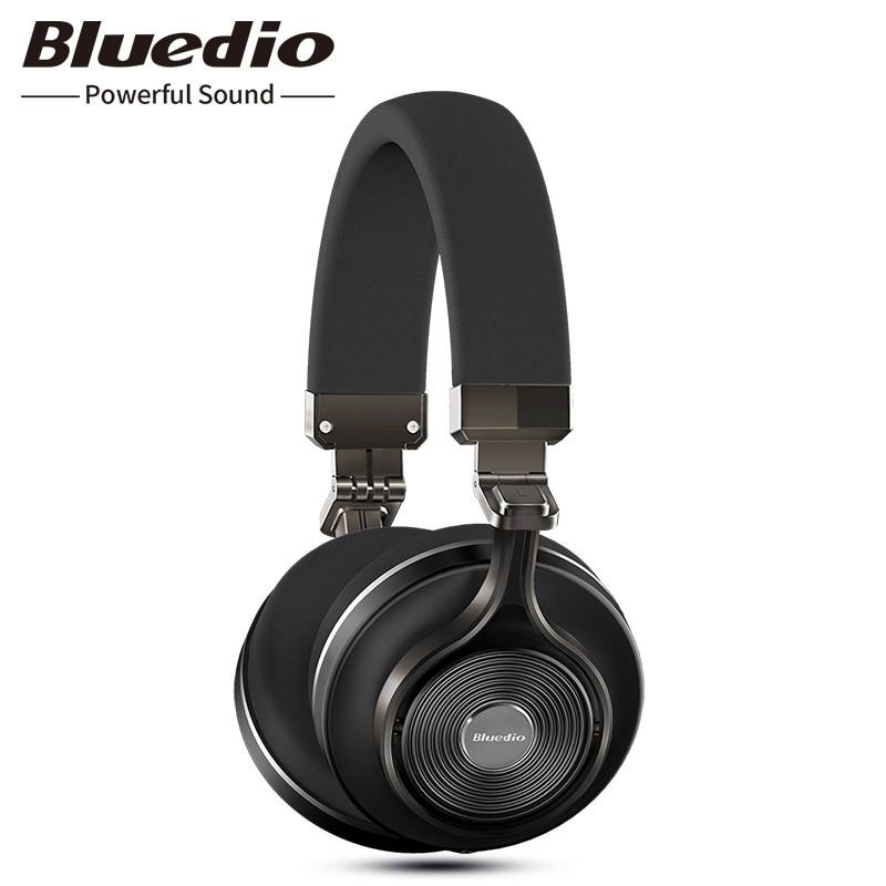 Originale Bluedio T3 cuffie stereo senza fili portatile di bluetooth auricolare con microfono per Iphone Samsung Xiaomi telefono di musica