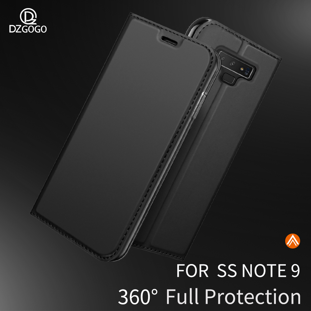 Buy For Samsung Galaxy Note 9 8 Case Card Slot Stand Cover for Galaxy S10 E S9 Plus S10+ Wallet Phone Case Magnetic Protective Case for only 10.96 USD