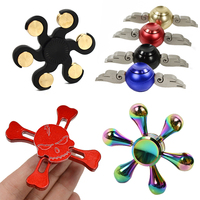 12 Colors Metal Hand Spinner Fashion Fidget Spinner Anti Stress Finger Toys Cool Gifts Educational Balance Toy