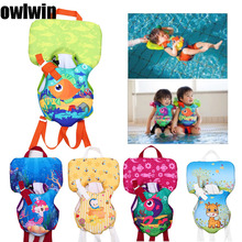 owlwin new baby life vest jacket <14KG use kids water Bubble buoyancy swimsuit  Water Sports Baby Lifejacket Swimming