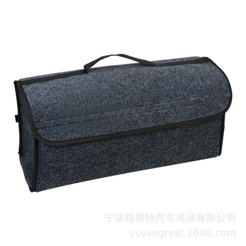 felt cloth car trunk storage box car storage box folding storage bag car interior. Black Bedroom Furniture Sets. Home Design Ideas