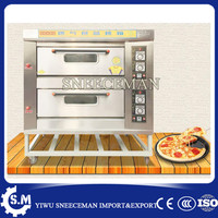 2layers 4trays kitchen appliances gas oven bakery bread machine