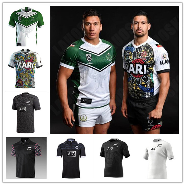 0cf6e23d01e 2019 New Zealand MAORI All Blacks jerseys Rugby Beauden Barrett Sam Cane  Dan Carter Coles Crockett Faumuina Fekitoa ALL STAR