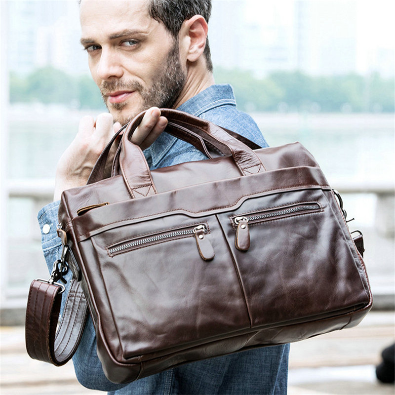 Color : Black Canvas Waterproof Thickening Vertical Section Business File Bag File Package Large Capacity Briefcase Men and Women Leisure Bag