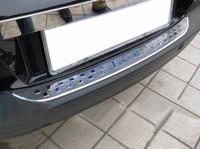 Car Styling Stainless Steel Rear Bumper Door Sill Plate Scuff For Volkswagen Tiguan 2009 2010 2011 2012