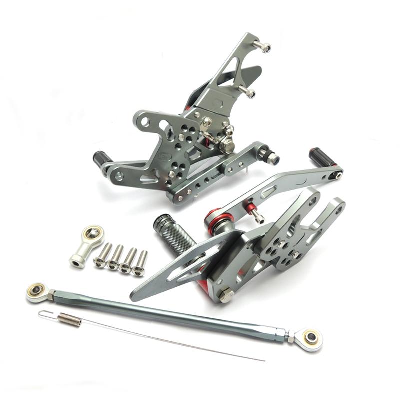 KEMiMOTO New Rear Sets For Honda CBR1000RR 2008 2009 2010 2011 2012 2013 2014 CBR 1000RR Adjustable Rearsets Foot Rests Pegs (8)