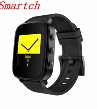 Smartch SMA-TIME Wristband 1.28 Inch LCD Screen 40 Days Long Standby Camera Health Tracker Timer Sport Smart Watch for IOS/Andro