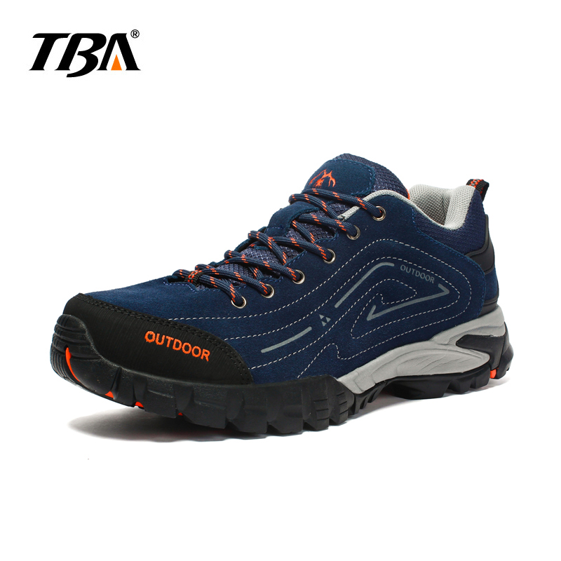 TBA 2017 winter  hiking Shoes for Men hard wearing strong trip Climbing Men Sneakers Outdoor Mens Trekking  Sport Boot humtto new hiking shoes men outdoor mountain climbing trekking shoes fur strong grip rubber sole male sneakers plus size
