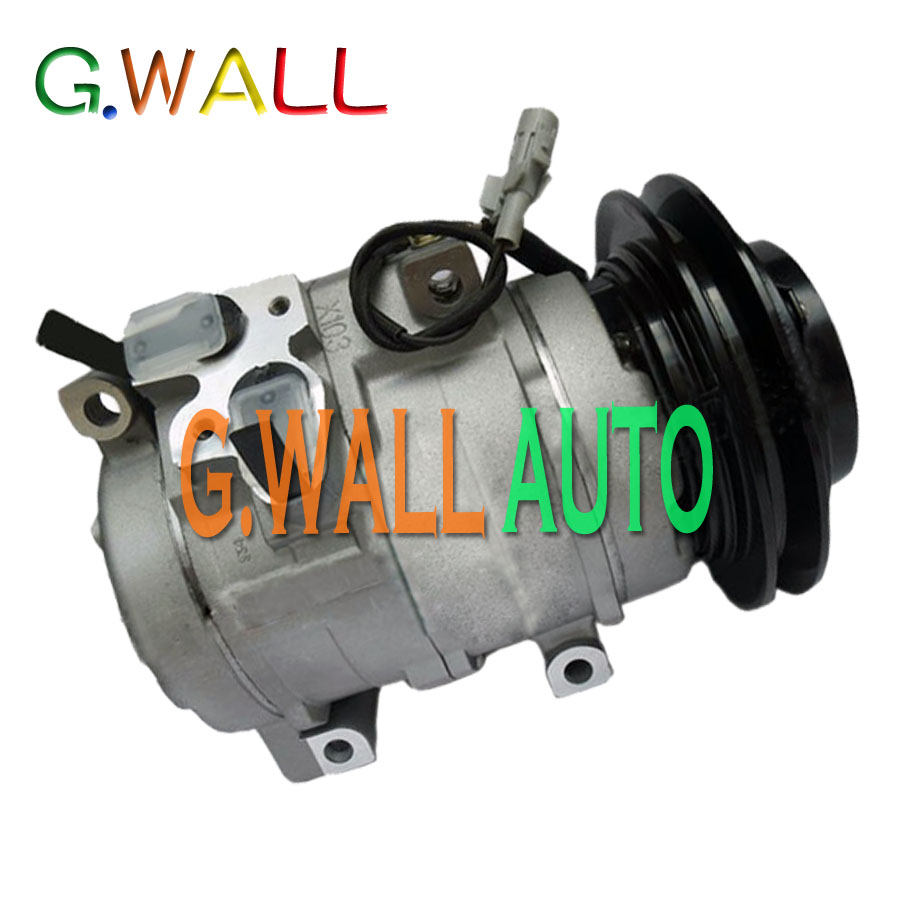 FOR CAR TOYOTA PRADO 2700 NEW A C AC COMPRESSOR PV1 12V AIR CONDITIONING COMPRESSOR SPARE PARTS in Air conditioning Installation from Automobiles Motorcycles