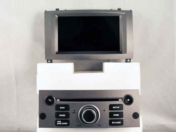 imágenes para Octa core 2 GB de ram 6.0.1 Android reproductor de dvd del coche Para Peugeot 407 2004-2010 gps bluetooth navegación de radio auto DVR 3G unidades principales