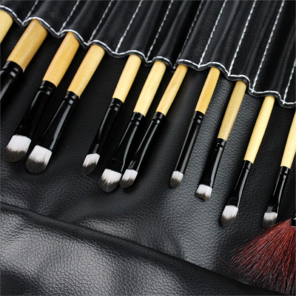 2017 hot sale Brushes Makeup Brushes Set Tools Portable Full Cosmetic Brush Tools Makeup Accessories 24pcs/Set