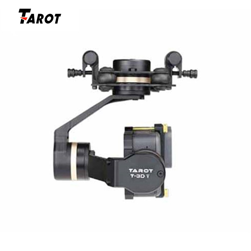 Tarot Original 3D Metal 3axis Gimbal FOR GOPRO 5 Quadcopter Profession Parts RC FPV Racing Drone Accessories Accs