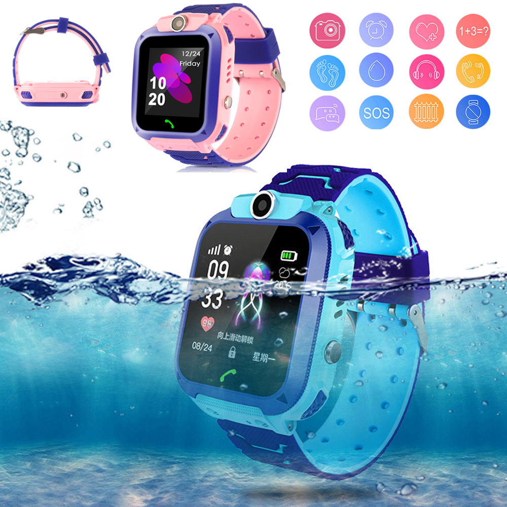High Quality Newest Waterproof Tracker Smart Kids Child Watch Anti-lost SOS Call Smart Watch For iOS Android High Quality Newest Waterproof Tracker Smart Kids Child Watch Anti-lost SOS Call Smart Watch For iOS Android