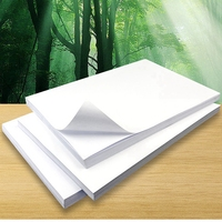 A4 Paper Self Adhesive Sticker For Ink Jet Printer High Glossy Photo Paper
