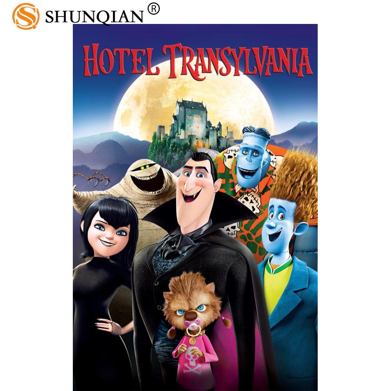Custom Posters Hotel Transylvania Art Home Room Interior