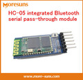 Free Ship Good quality HC-05 integrated Bluetooth serial pass-through module/wireless module for arduino