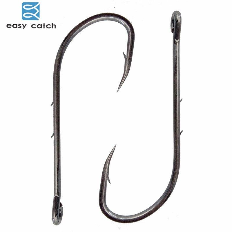 40 x Mixed  BaitHolder Sea Fishing Hooks 3//0,2//0,1//0 and size 1