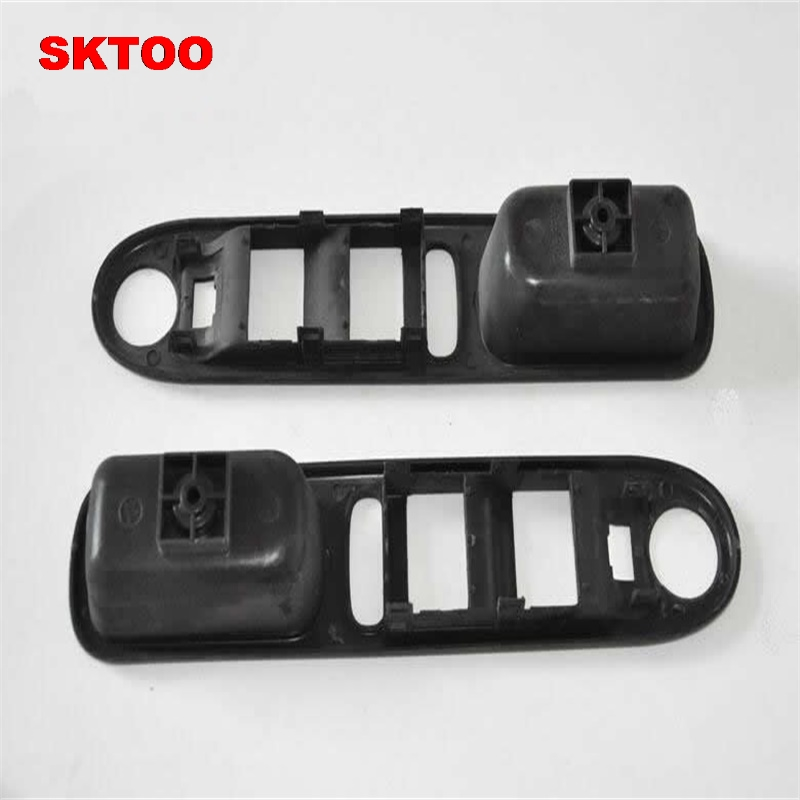 SKTOO Fit for Peugeot 307 left front lift switch bracket Elevator switch cover shell