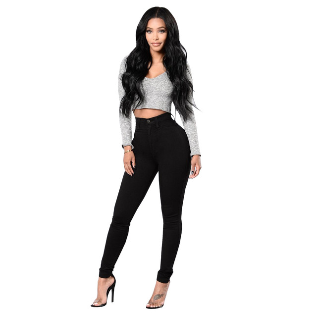 18988d59726 SEJIAN New Arrival Black Jeans Trousers Stretch Tight Jeans Women's Denim  Pant For Girls Female High Waist Jeans Trousers