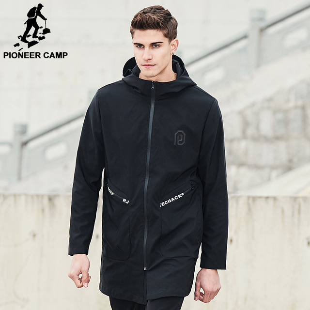 Aliexpress.com : Buy Pioneer Camp 2017 New Spring long jacket coat ...