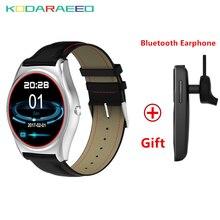 N3 quente Relógio Inteligente Com Monitor De Freqüência Cardíaca Do Bluetooth Relógio Inteligente de Carregamento Sem Fio Suporte Chamada Lembrete Aptidão Smartwatch