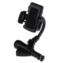 One Car Cigarette Lighter plus Two USB Charger Mount Holder