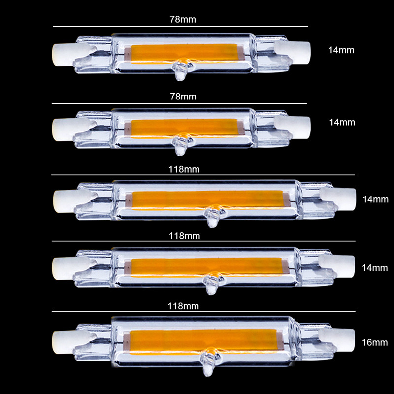 R7S-COB-LED-Lamp-Bulb-Glass-Tube-for-Replace-Halogen-Light-Spot-Light-78mm-118mm-AC