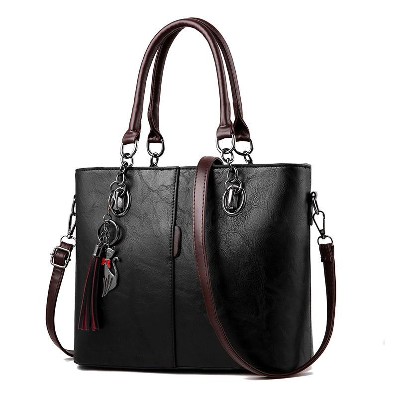 Luxury Handbags Women Bags Designer Big Crossbody bags For Women 2021 Solid Shoulder Bag Leather Handbag sac bolsa feminina
