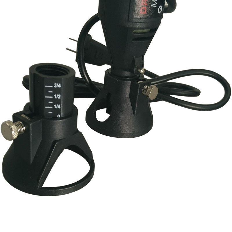 Drill Dedicated Locator,Professional Carving,grindering & Polishing Located Horn For Dremel Drill Rotary Accessories