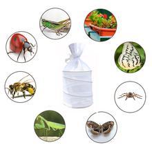Мини Детская клетка в форме бабочки коробка для разведения Свадебные украшения для наружного шелкопряда огнеупорный насекомое контейнер для наблюдения