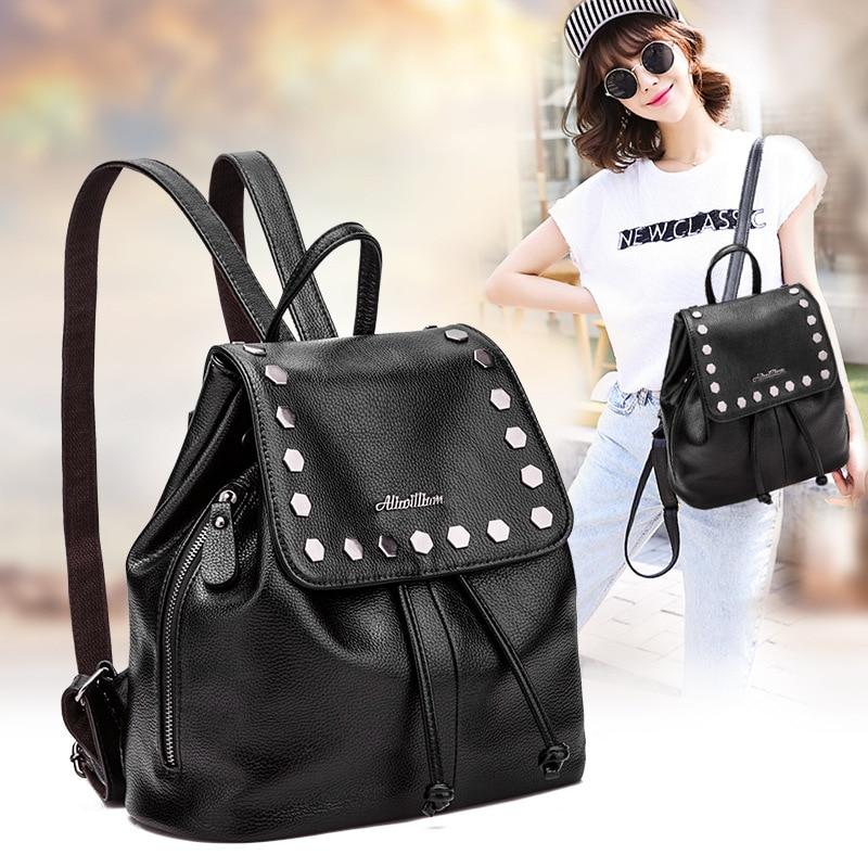 Backpack female 2016 new summer fashion nail bag 168 105