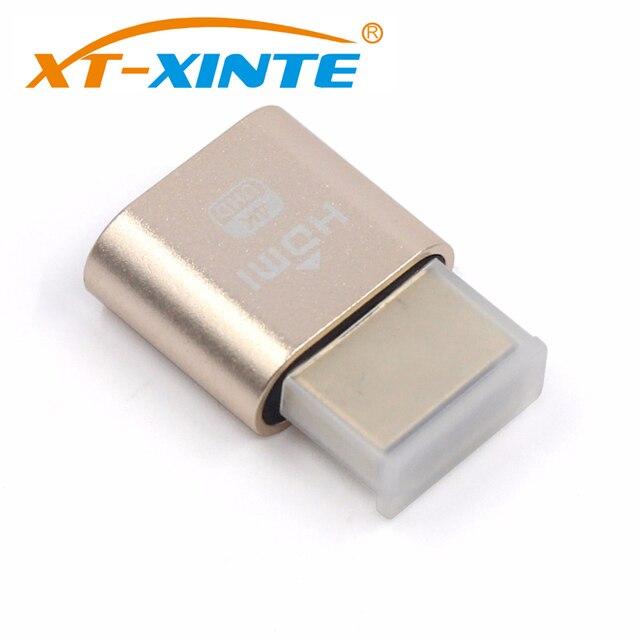 VGA Virtual Display Adapter HDMI DDC EDID Dummy Plug Headless Ghost Display Emulator Lock plate 1920x1080@60Hz