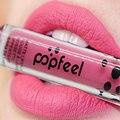 Hot New 8 Color Sexy Mate Impermeable lápiz labial Líquido color Lipgloss Mujer Maquillaje Duradero brillo de Labios de humedad para mujeres