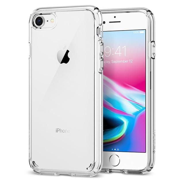 size 40 3e639 cf8b9 US $19.99 |100% Original SPIGEN Ultra Hybrid [2nd Generation] Cases for  iPhone 8 / iPhone 7-in Fitted Cases from Cellphones & Telecommunications on  ...