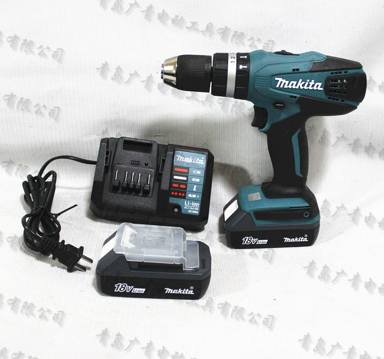 New 18V lithium rechargeable drill drill, electric screwdriver machine IS63
