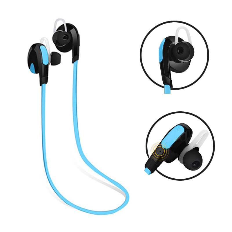 Good Sound Quality APT-X Bluetooth 4.1 Earphone Sweat Proof Headset Sport Stereo Wireless Headphones For iPhone Android 1