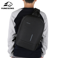 Kingsons Luxury Designer High Quality Famous Brand Men Chest Bag Fashion Travel Crossbody Bag Man Messenger