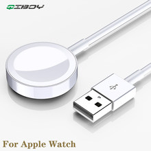 Cargador inalámbrico QI Original para cargadores magnéticos Apple Watch para carga rápida iwatch 4/3/2/1 estación de carga de Cable USB de 1m(China)