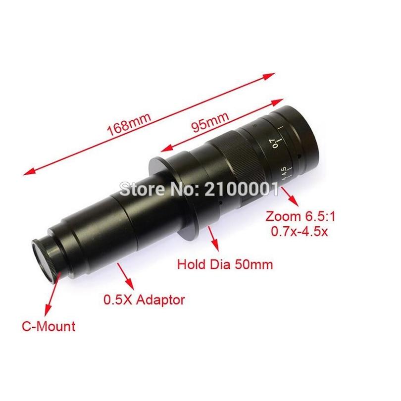 FYSCOPE Ingrandimento 180X regolabile Zoom 25mm Lente con attacco C - Strumenti di misura - Fotografia 2