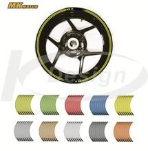Bysprint колеса наклейки светоотражающие наклейки обода в полоску Z руль для Kawasaki Z250 Z300 Z650 Z750 Z800 Z900 Z1000 Z1000SX