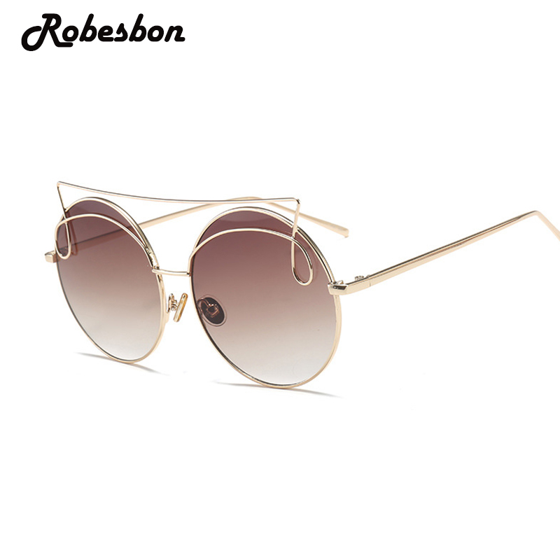 Cute Cheap High Quality Sunglasses Women Luxury Brand Vintage Glasses for Ladies Retro Alloy Gradient Eyewear Gafas