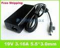 Для samsung ноутбук зарядное устройство 19 В 3.16A R440 R480 R510 R522 R525 R530 R540 AC Адаптер Питания Зарядное Устройство