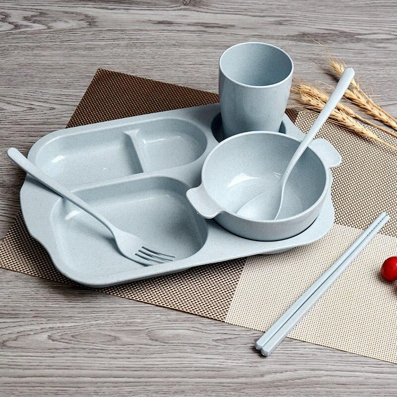 050 Cartoon Snacks Dishware Dishes Children Dinner Plate